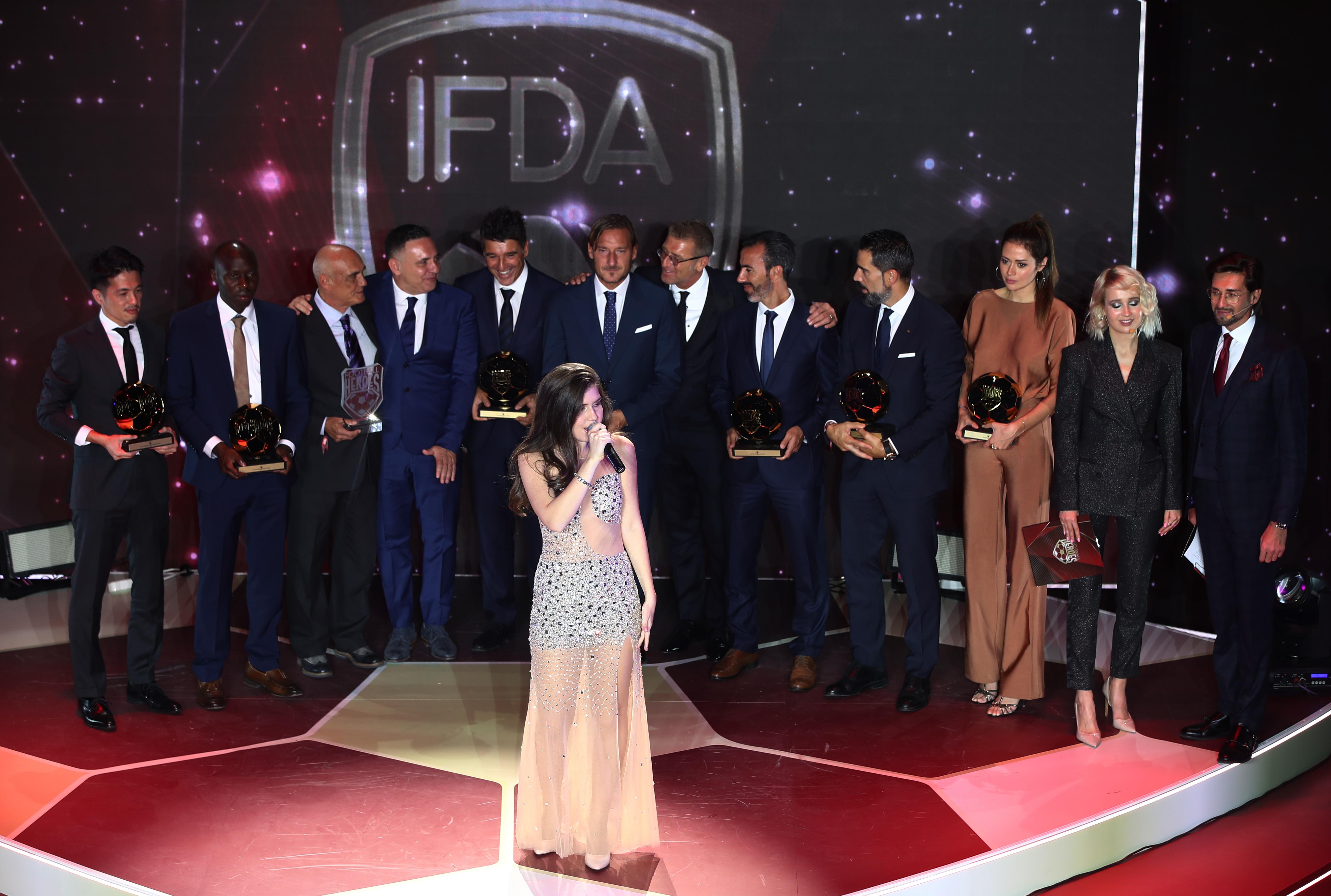 Футбол. Церемония вручения наград премии Football Heroes